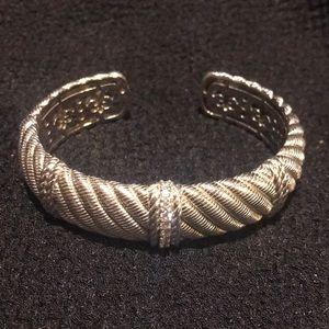 Judith ripka 925 sterling bracelet